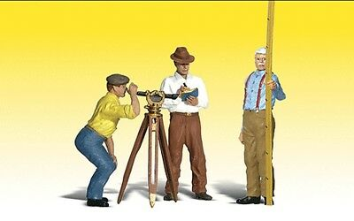 Woodland Scenics-Scenic Accents(R) Figures -- Hilow Bros. Surveying Co - G