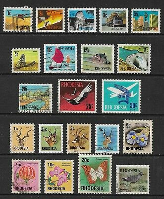 RHODESIA mixed collection No.4, decimal, used