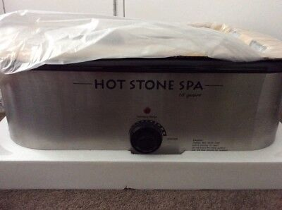 HOT STONE MASSAGE KIT: 32 piece basalt stone set + 18qt heater (Aussie seller)