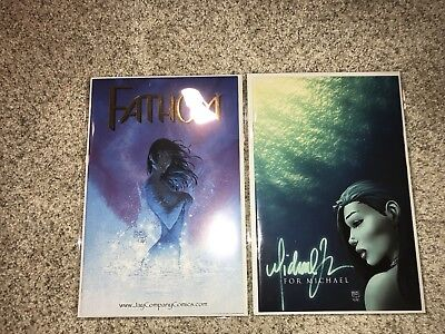FATHOM SWIMSUIT SPECIAL 2000 JAY COMPANY SPECIAL Gold Foil + For Michael Edition