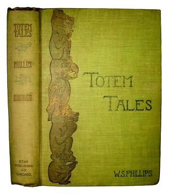 AMERICAN INDIAN Totem Legends 1903 Chinook Haida Chippewa Pacific Northwest