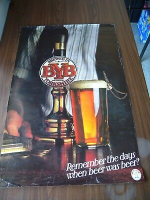 4 x Vintage Beer Posters Whitbread Cains Davenports Yorkshire England UK