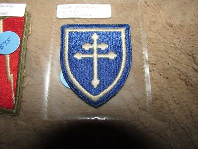 Original WWII U.S. Army 79th Infantry Division Full Color Cut Edge Patch