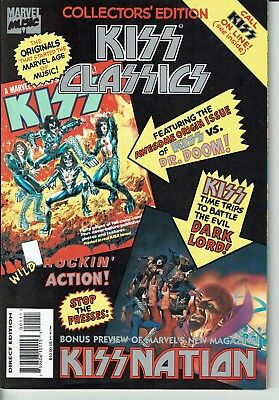 KISS CLASSICS Marvel Comic Collector's edition 1A 1995 1st Printing VF-