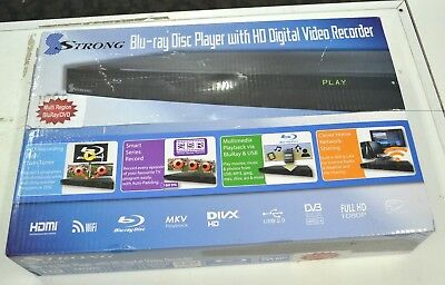 BRAND NEW Strong SRT6500 Bluray Recorder Twin Tuner 500Gb Smart Series Record