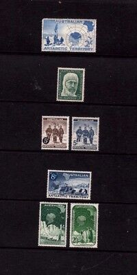 Aust  Pre -Decimal Stamps - Full Set Of 7 Aat - Muh