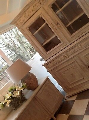 Antique French Buffet/Dresser. Late 1800's Courier available
