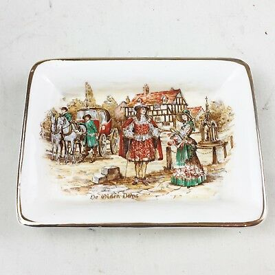 Vintage English Ware Lancaster Sandland Hanley Ltd Ashtray Or Pin Dish