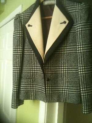Vintage collection of 4 Mansfield jackets - pure new wool - rare and beautiful