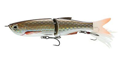 "Savage Gear Jointed Glide 8"" Swimmer Slow Sinking Fishing Lure, Rainbow Trout, 3"