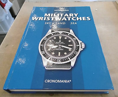 Buch book Military Wristwatches - Sky, Land, Sea - Militäruhren