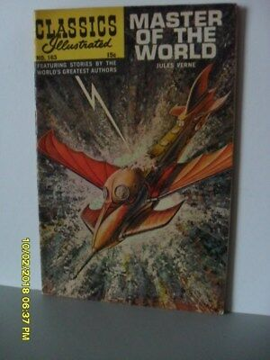 Master of the World, Jules Verne - Classics Illustrated Comic. No. 163 -VG+ HRN