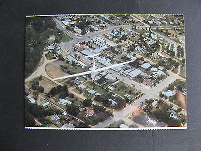 Tocumwal NSW Australia  Glider Over Town