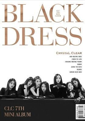 K-POP CLC 7th Mini Album - [BLACK DRESS] CD+Booklet+Postcard+Photocard Sealed