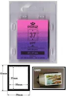 SALE PRINZ Mounts GARD [Back opening] Clear Cut-To-Size 35 x 37 [LOT29]