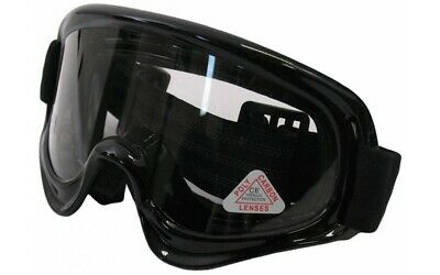 Cross Brille EDGE Schwarz Motocrossbrille Motocross