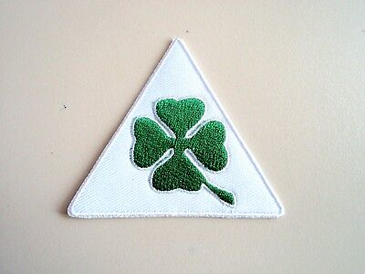 1x Alfa Romeo 4 Leaf Clover Patches Embroider Cloth Applique Badge Iron Sew On