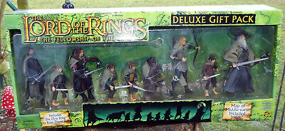 Herr der Ringe - Toy Biz - Lord of The Rings - fellowship  DELUXE GIFT PACK