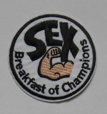 Patch écusson sex breakfast of champions