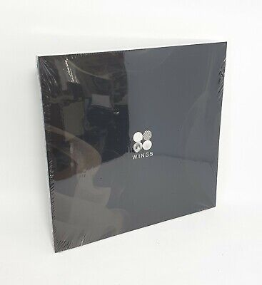 "K-POP BTS 2nd Album [WINGS] ""I Ver."" CD + 96p Photobook + Photocard Sealed"