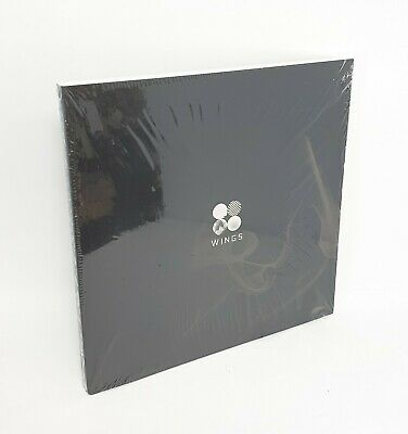 "K-POP BTS 2nd Album [WINGS] ""G Ver."" CD + 96p Photobook + Photocard Sealed"