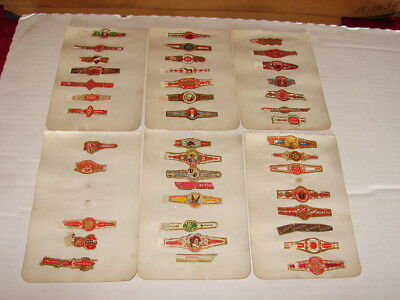 Old Cigar Band Collection - Many L@@K - Lot 2