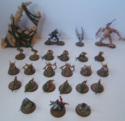 Heroscape Swarm of the Marro 24 Loose Miniatures w/ Hive No Cards Minis Only