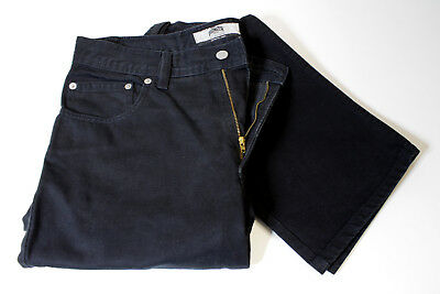 Pioneer Total Black Denim Jeans W35 L34