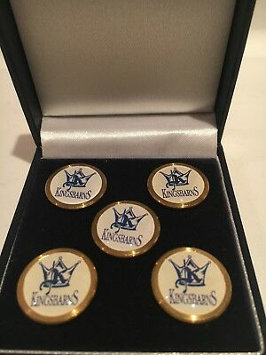 Kingsbarns Souvenir Ball Marker Set - Blue