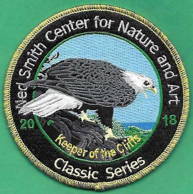 Pa Pennsylvania Game Fish Commission Ned Smith 2018 JUST RELEASED Eagle Patch