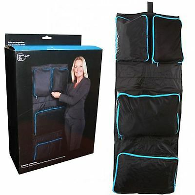 Suitcase Organiser Bag Packers Tidy Case Luggage Packing Travel Set 4compartment