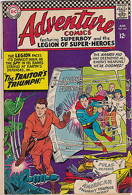 Adventure Comics #347 Fine+ To F/vf