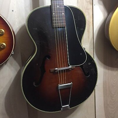 Vintage Harmony Made Marvel C Archtop Guitar