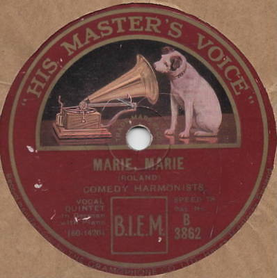 "78er Comedian Harmonists 1931 ""Marie, Marie"""