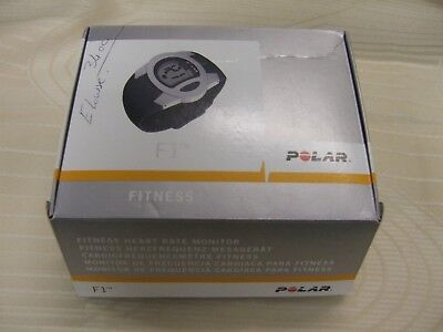 Polar F1 Fitness Tracker & Heart Rate Monitor ~ Boxed Excellent Condition~