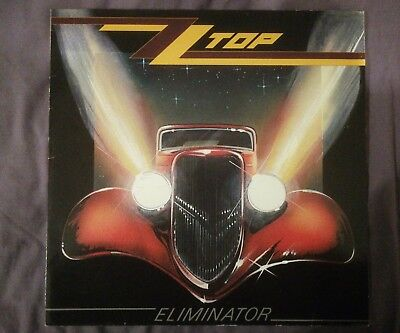 Zz Top Eliminator German Original Pressing 1983 With Original Inner Sleeve