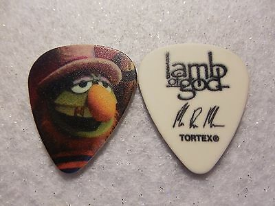 GUITAR PICK  Mark Morton - Lamb of God 2016 The Muppets Tour issue guitar pick