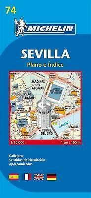 Seville Map - New Michelin 74 / 9074 - 2017 Edition