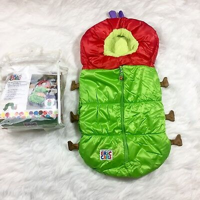 New The World of Eric Carle Caterpillar 2 in 1 Stroller Baby Carrier Bunting