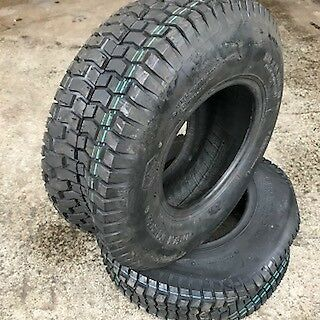 2x 18x6.50-8 4PR Lawn mower Grass cutting Golf buggy new turf tyres 18 650 8 x2
