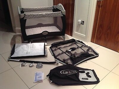Graco Contour Electra travel cot.pack 'n' play.