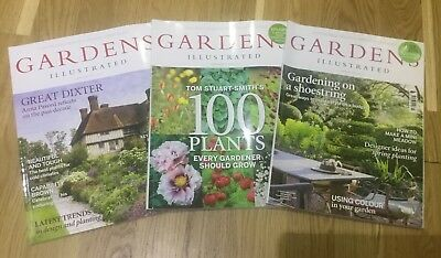 Gardens Illustrated Magazines January/Febuary/March 2016