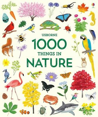 1000 Things in Nature Brand New Usborne Book: Spring Release