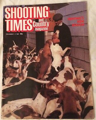 The Shooting Times and Country Magazine November 1-7 1984
