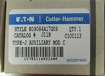 EATON CUTLER HAMMER J11N A200 Auxiliary Contact Nylon Plunger N09084A17G09