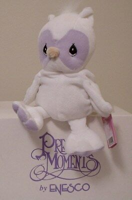 "Precious Moments TENDER TAILS   ""WHITE OWL "" L/E SPECIAL EVENT   1998"