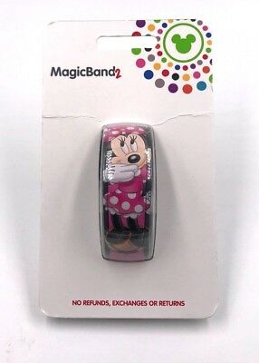 New Disney World Minnie Mouse Autograph 2.0 Magic Band Link It Later
