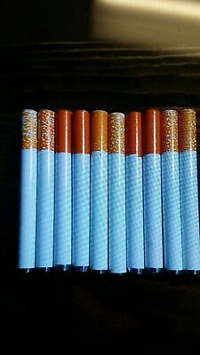 """5x 3"""" Cigarette Pipe One Hitter Pipe Metal Bat Tobacco Smoking Dugout Blemished"""