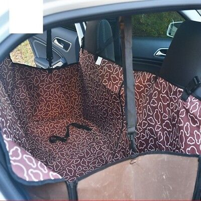 Pet Dog Car Rear Back Seats Mat Cover Safety Waterproof Mats Hammock Protector