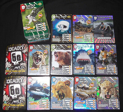 STEVE BACKSHALL - DEADLY 60 WILD OFFICIAL TRADING CARD GAME 150 of 161 SET (BN)